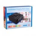 Image 5 of Laser Qi Wireless Charging Alarm Clock With Bluetooth Speaker Spk-qc002 SPK-QC002