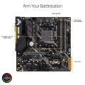 Image 5 of Asus Amd B450 Matx Gaming Motherboard With Aura Sync Rgb Led Lighting Ddr4 3200Mhz Support 32Gbps 90MB0YQ0-M0UAY0
