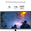 Image 4 of Asus Vp28uqg Gaming Monitor - 28 Inch 4k 1ms Adaptive-sync/ Freesync Flicker Free Blue Light VP28UQG