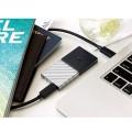 Image 3 of Western Digital WD 1TB My Passport SSD Portable USB Type-C 3.1 Black-Gray WDBKVX0010PSL-WESN WDBKVX0010PSL-WESN