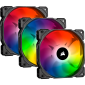 Corsair iCUE SP120 RGB PRO Performance 120mm Triple Fan Kit with Lighting Node CORE (Co-9050094-Ww)