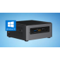 Intel Nuc Mini Pc I5-8265 U 8Gb Ddr3 1Tb Hdd 16Gb Optane Radeon Win 10 3Yr Wty Bxnuc8I5Inhja4