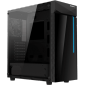 Gigabyte C200G Atx Mid Tower Pc Case Rgb Lights Glass Side Panel Gb-C200G