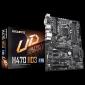 Gigabyte H470 Ultra Durable Motherboard 4xDDR4, 6xSATA, 2xM.2, USB-C, USB3.2 Gen2, ATX,3YR (Ga-H470-Hd3)