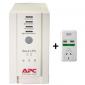 APC Back-Ups Cs 650Va 230V Bonus Surgearrest Bk650-As+P1U2-Az-02