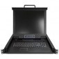 """Startech 16 Port Rackmount KVM Console w/ 6ft Cables - Integrated KVM Switch w/ 17"""" LCD Monitor (Rkcons1716K)"""