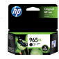 HP 965Xl Black Original Ink Cartridge 3Ja84Aa