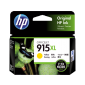 HP 915XL High Yield Yellow Original Ink Cartridge 3Ym21Aa
