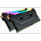 Corsair Vengeance RGB PRO DDR4, 3600MHz 32GB 2x 288 DIMM, Unbuffered, CMW32GX4M2Z3600C18