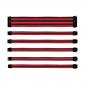 COOLER MASTER RED/BLACK SLEEVED EXTENSION CABLE KIT (Cma-Nest16Rdbk1-Gl)