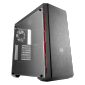 Coolermaster Masterbox Mb600L Atx Transparent Panel Gunmetal Color Side Trim Mcb-B600L-Kann-S02