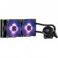 Coolermaster Liquid Cpu Cooler: 240mm Radiator Intel Lga 2066/ 2011-v3/ 2011/ 115x/ 1366/ 775 Socket