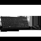 Rapoo Wired Optical Mouse & Keyboard Combo Black Multimedia Keyboard/ Full Size/ Anti-oxidation Sealed Membrane/ 1000 Dpi High-definition Tracking Nx1710
