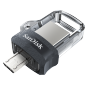 Sandisk Ultra Dual Drive M3.0 Black Usb3.0/ Micro-usb Connector Otg-enabled Android Devices 5y