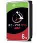 Seagate 8Tb Ironwolf Pro Ent Nas Hdd 3.5In Internal Sata 6Gb/ S 7200Rpm 256Mb Cache St8000Ne001