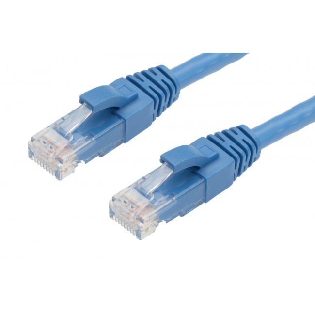 4cabling 20m cat 6 ethernet network cable blue. Black Bedroom Furniture Sets. Home Design Ideas