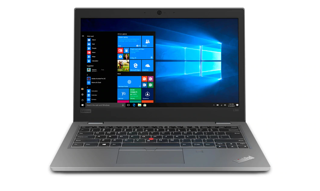 "Image 1 of Lenovo L390 I7-8565U 13.3"" Fhd 512Gb Ssd 8Gb + 3Yr Onsite Wty (5Ws0K18197) 20Nrs00S00"