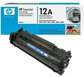 Image 1 of Hp Q2612a Toner Cartridge Black Q2612a Q2612A