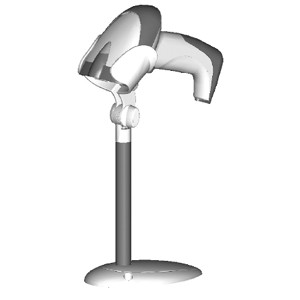 Image 1 of Datalogic Gryphon Hands Free Stand White Hands Free Retail Stand For White Gryphon D130/ 230 90ACC1760