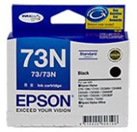 Image 1 of Epson 73n Std Cap Durabrite Ink Cart Black C13t105192 C13T105192