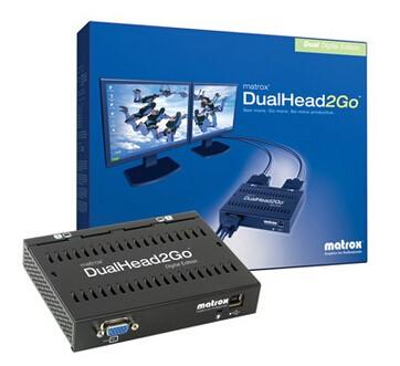 Image 1 of Matrox Dualhead2go Digital Edition D2G-A2D-IF