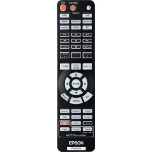 Image 1 of Epson Remote For Eh-tw4500/ 5500 Projector Spare Remote Control Unit For Eh-tw4500/ 5500 Projector  1500151