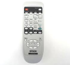 Image 1 of Epson Remote For Eb-1830/ 1910/ 1925w Spare Remote Control Unit For Eb-1830/ 1910/ 1925w Projector  1507996