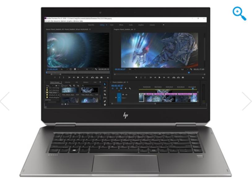 Image 1 of HP ZBook Studio x360 G5 Convertible Workstation 9Dj24Pa 9DJ24PA