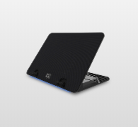 "Image 1 of Coolermaster Ergostand Iv Ergonomic Laptop Cooler With Usb Hub Up To 17"" R9-Nbs-E42K-Gp R9-NBS-E42K-GP"
