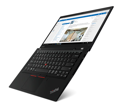 """Image 1 of Lenovo T490S I5-8265U 14.0"""" Fhd 256Gb Ssd 8Gb + Backpack + W/ Less Mouse 20Nxs00W00-Bagmouse"""