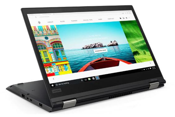 """Image 1 of Lenovo X380 Yoga I7-8550 13.3"""" Fhd 256Gb Ssd 8Gb + Lenovo 23.8"""" Wled (61Cemar2Au) 20Lh002Hau-Len24"""