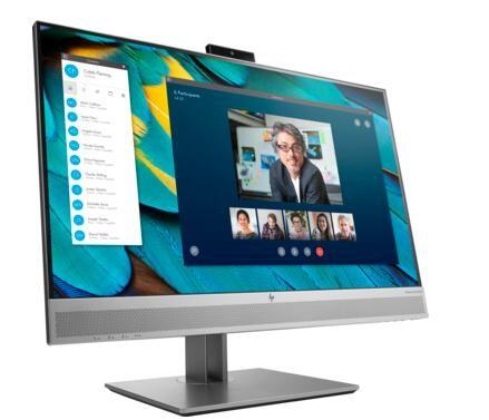 "Image 1 of Hp E243M 23.8"" Ips Fhd Monitor 16:9 1920X1080@60Hz 5Ms Webcam Vga Dp Hdmi Usb3.0 Tilt Swivel Pivot 1FH48AA"