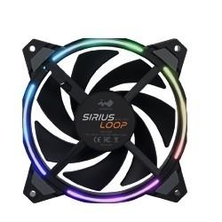Image 1 of In Win Sirius Loop Addressable Fan 3 Pack Sirius Asl120-3Pk SIRIUS ASL120-3PK