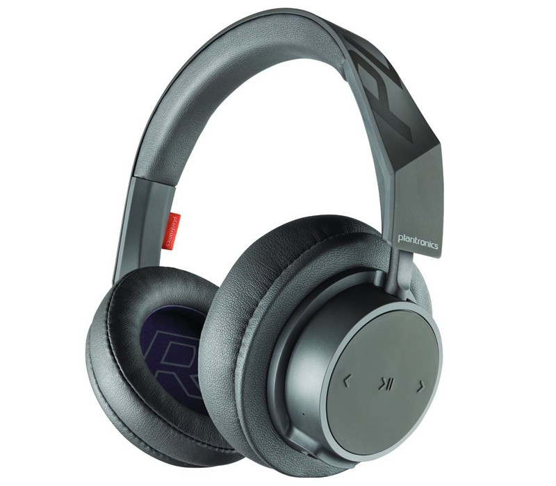 Image 1 of Plantronics BackBeat Go 600 Over-Ear Wireless Bluetooth Headphones Navy 211139-99 211139-99