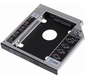 Image 1 of I-tech Sata 2nd Hdd Caddy Case For 12.7mm Universal Laptop Cd / Dvd-rom Optical Bay