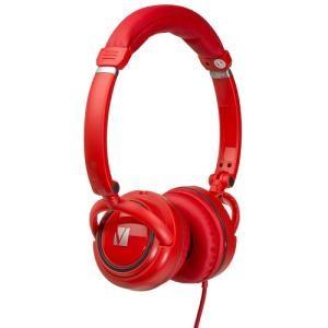 Image 1 of Verbatim On-ear Street Audio Headphones - Red 65070 65070