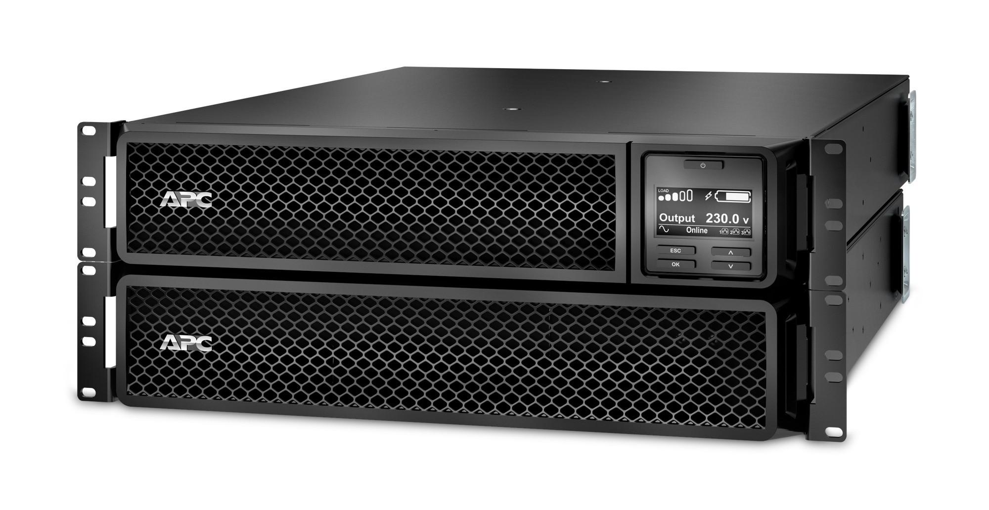 Image 1 of Apc Smart-Ups (Srt) 3000Va (Srt3000Rmxli) + Bonus Lacie 1Tb Usb 3.0 Portable Drive Srt3000Rmxli-Lac