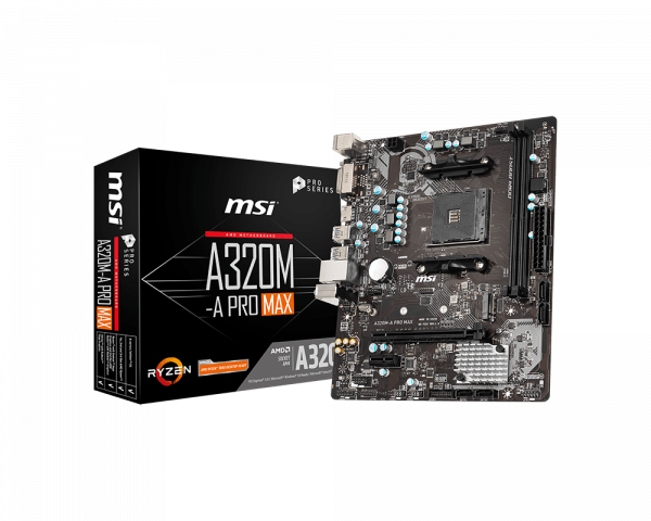 Image 1 of MSI A320M-A Pro Max Motherboard A320M-A PRO MAX