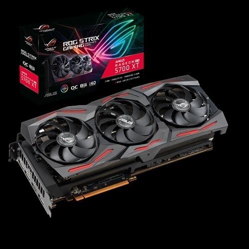 Image 1 of Asus ROG Strix Radeon™ RX 5700 XT OC edition 8GB GDDR6 Graphic Card ROG-STRIX-RX5700XT-O8G-GAMING ROG-STRIX-RX5700XT-O8G-GAMING