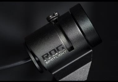 Asus Rog Spotlight Rgb Logo Projector With Magnetic Stand (Usb) For Use  With Aura Sync Rgb Lighting