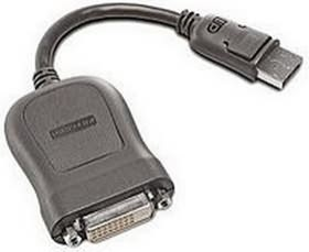 Image 1 of Lenovo Displayport To Single Link Dvi-d Cable Adapter 45j7915 45J7915