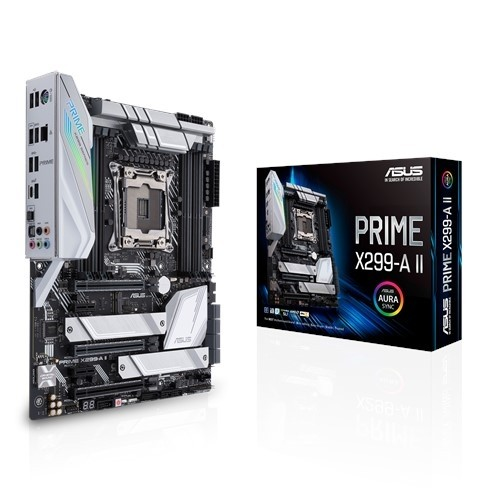 Image 1 of Asus PRIME X299-A II Intel ATX Motherboard LGA 2066 for Intel Core X-series processors PRIME X299-A II
