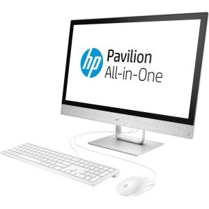 Image 1 of Hp Pavilion 24-r100 24-r159a All-in-one Computer - Intel Core I5 I5-8400t 1.70 Ghz - 8 Gb Ddr4 4LY19AA