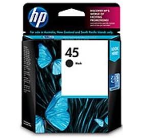 Image 1 of Hp 51645aa Inkjet Cartrige 45a-black 51645AA