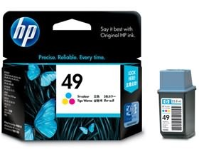 Image 1 of Hp 49a Ink Cartridge Tri-color 51649aa 51649AA