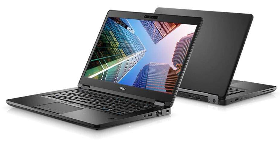 Image 1 of Dell Latitude 5490 I7-8650u Vpro 14in (fhd) 16gb (2x 2400-ddr4) 512gb (m.2-ssd) Wireless-ac Bt-4.2 XXJJ7