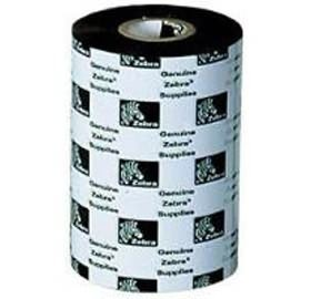 Image 1 of Zebra Wax Ribbon 110mm X 74m Core Size 0.5 Inches J2300bk11007 J2300BK11007