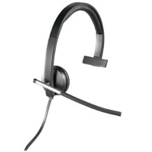 Image 1 of Logitech H650E Mono USB Headset + C925E Webcam H650M+C925E H650M+C925E