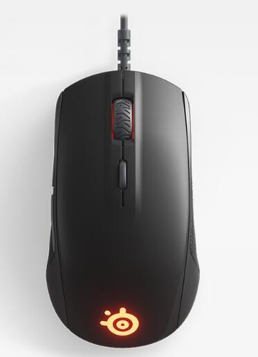 Image 1 of Steelseries Rival 110 Gaming Mouse Matte Black 62466 62466
