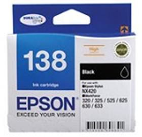 Image 1 of Epson T138695 Epson T138 High Capacity Bundle Pack, 4 Inks+ 4x6 Photo Paper C13T138695